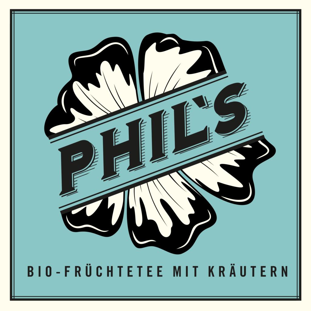 Phils Eis Tee Logo Bio Früchte Tee