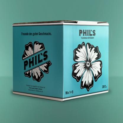 Phil's Bio-Früchte Tee mit Kräutern Eisteebox